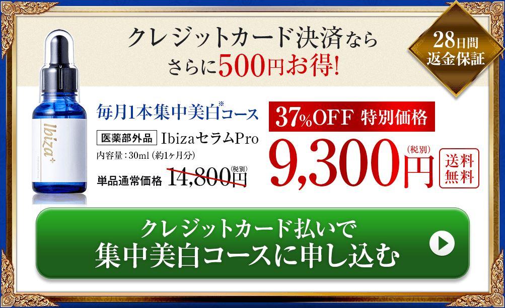 イビサセラムプロ公式価格