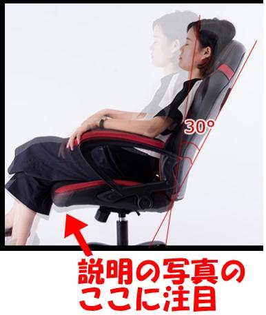 椅子の説明