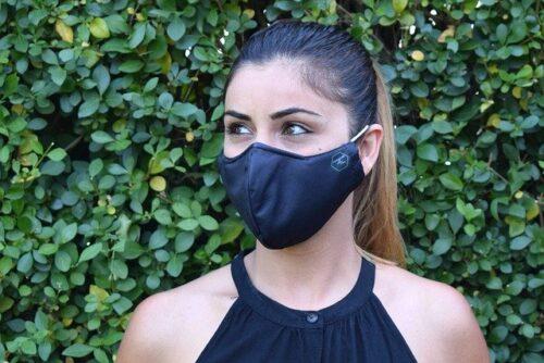 コロナ対策マスク熱中症